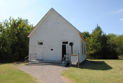 Harn Homestead Schoolhouse Outside